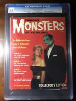Famous Monsters of Filmland #1 (1958) - Frankenstein! - CGC 5.5 - Rare!