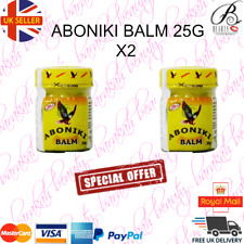 2 x Aboniki Balm Relieves pain, aches, backaches, cold -25g- (2 PACK)