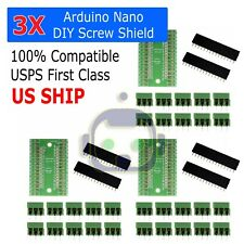 3X Screw Terminal Expansion Adapter Board Shield 4 Arduino Nano V3.0 ATMEGA328P