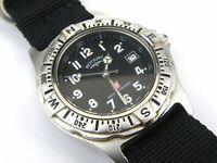 Rotary Men's Swiss Commando ETA Quartz Submariner Watch - 100m