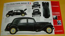 1952 Citroen Big Fifteen 11CV Traction Avant 4 Cyl 1191cc info/specs/photo 15x9