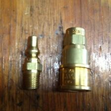 Red Dragon HK-7  1/4 Propane / Natural Gas Quick Connector Set