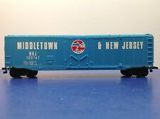 "HO Scale ""Middletown & New Jersey"" 120747 50' Freight Train Box Car"