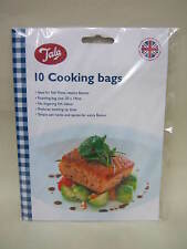 New Tala Cooking Oven Bags Ideal For Fish 30cm x 14cm Pk10