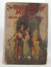 Warlord of Mars - Edgar Rice Burroughs - First Edition Reprint - HC/Dust Jacket