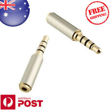 Female 2.5mm To 3.5mm Male Plug Earphone Audio Adapter TRRS - Z582F