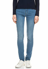LACOSTE Damen Jeans Hose Mid Waist Stretch Komfort Elasthan