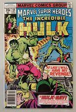 Marvel Super Heroes The Incredible Hulk #68 1st Print 1977 VF