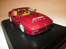 "FERRARI 456 GT ROSSO RED MET SPECIAL EDITION ""Ferrari World"", Detail Cars in 1:43!"