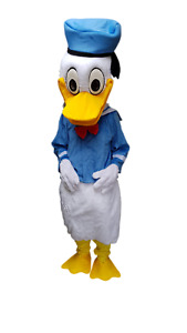 Donald duck Mascots Costumes for HIRE party's Events UK  to HIRE