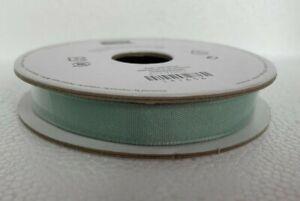 "Stampin' Up! Mint Macaron 3/8"" Fine Linen Ribbon 10 Yds"