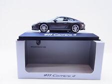 52254 Minichamps Porsche 911 Carrera 4 Typ 991 Modellauto grau met. 1:43 NEU OVP