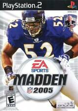 PS2 Sony Play Station 2 ESPN EA Sports Madden 2005 In Box w/ Book P212