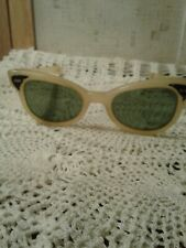 """Vintage """"Cat's eye """" Sunglasses ~ Pre-Owned Good Condition."""