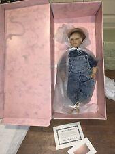 "Annette Himstedt 5194 American Heartland~Timi~ 22"" Puppen Kinder Boy Doll Coa"