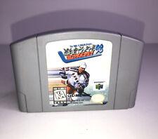 Wayne Gretzky's 3D Hockey '98 (Nintendo 64, 1997) N64 Authentic Cartridge Only