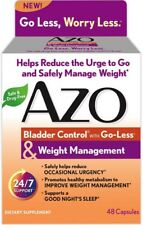 AZO Bladder Control with Go-Less - Weight Management Capsules 48 ea
