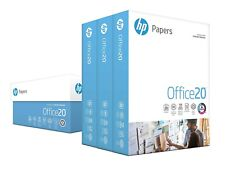 HP Printer Paper 8.5 x 11 Letter Size 20lb, 92 Bright, 3 Ream 1,500 Sheets