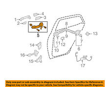 Scion TOYOTA OEM 08-14 xD Lock -Rear Door-Handle Base Right 6920352050