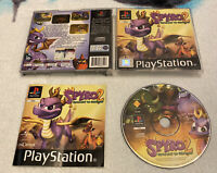 Spyro 2 Gateway To Glimmer PS1 PS2 PS3 Playstation 1 Complete Black Label