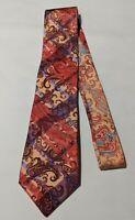 Robert Graham Mens Neck Tie Silk multicolor Floral Paisley Plaid striped