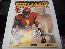 1998 USC TROJANS SOUTHERN CALIFORNIA VS SAN DIEGO STATE FOOTBALL PROGRAM NCAA