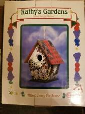 Mixed Berry Birdhouse Collection-Kathy's Gardens by New Creative Enterprises New