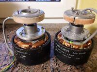 Spooling motor for Studer// Revox PR99 part# 1.021.210-00