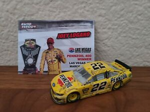 2019 #22 Joey Logano Pennzoil Las Vegas Win 1/64 NASCAR Authentics Loose Wave 12