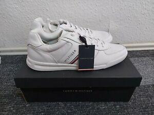 Tommy hilfiger /jeans.schuhe 46 Größe. CASUAL Sneaker low white
