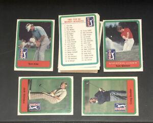 VINTAGE 1982 Donruss Golf Complete Set (66)  Nicklaus WATSON TREVINO ETC