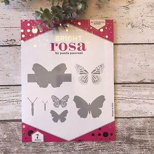 Bright rosa by Paula Pascual  Butterfly band metal Die Set