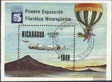 Nicaragua Blocco 151 (completa Edizione) usato 1983 EXPOFILNIC