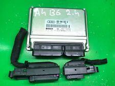 Audi A4 B6 Engine 2.4 BDV ECU Control Module Unit 8E0909552A Bosch 0261207495