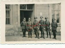Nr.32386 Foto  2,WK Deutscher Polizei Soldaten   6 x 9 cm