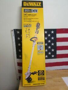 "Dewalt DCST922B 14"" Cordless Foldable Dual Line String Timmer 20V MAX Brushless"