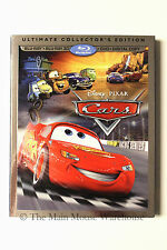 Disney Pixar The Original CARS 3D Blu-ray DVD Digital Copy Bonus Features Set