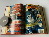 BOUND HARD COVER VOLUME WONDER WOMAN 1991 UP (HAS # 72) 2 VOLUMES DC COMIC LOT 2