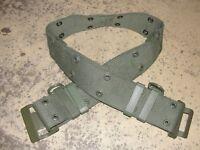 Ceinturon ceinture Famas kaki Armée Française neuf vert V.A. militaire
