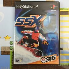 SSX (SNOWBOARDING) - SONY PLAYSTATION 2 PSTWO PS2 GAME - MINT