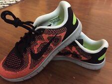 6a10ee2da7cd NEW Nike Free RN 2017 GS Black Kids Running Shoe Sneakers 904255-003 SZ 5.5