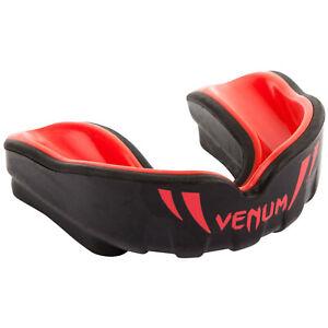 Venum Kinder Zahnschutz Challenger Schwarz-Rot Mundschutz Boxen MMA Kampfsport