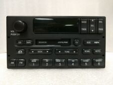 Lincoln cassette radio w/ RDS. OEM original Alpine stereo.Factory remanufactured