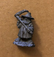 Warhammer Citadel C06 Northern Dwarf with Scythe Dwarves Pre Slotta Metal Figure