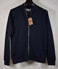 Soulland Wallance Logo Mens Sweater Noble Zip Jacket Navy M NWT