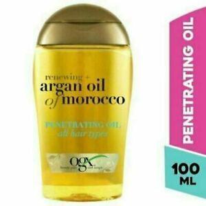 OGX Hair Oil Renewing Argan Oil of Morocco Penetrating Oil All Hair Types 100ml