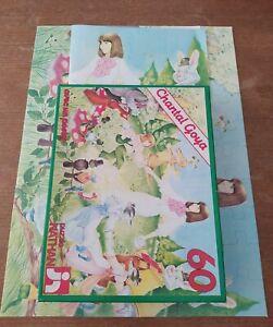 Puzzle Jigsaw Chantal Goya Pipotin et la foret magique 60 pièces Nathan 1981 oks
