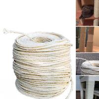 5/10/20M Sisal Rope Replacement Cat Scratching Post Sisal Hemp Rope For Cat Tree