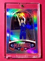 Luka Doncic HOLO REFRACTOR FINISH PANINI CHRONICLES MARQUEE MAVS CARD - Mint!