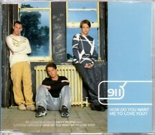 911 - HOW DO YOU WANT ME TO LOVE YOU? - 3 TRACK 1998 CD SINGLE